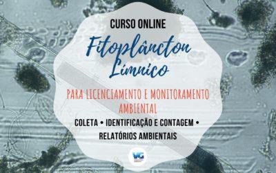 Curso Online Fitoplâncton Límnico para Licenciamento e Monitoramento Ambiental