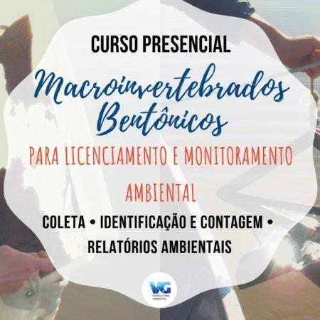 Macroinvertebrados Bentônicos para Licenciamento e Monitoramento Ambiental