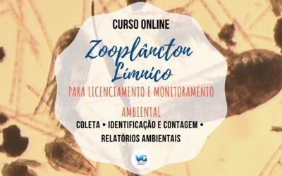 Curso Online Zooplâncton Límnico para Licenciamento e Monitoramento Ambiental