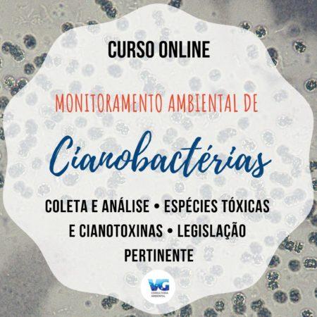 Curso Online Monitoramento Ambiental de Cianobactérias